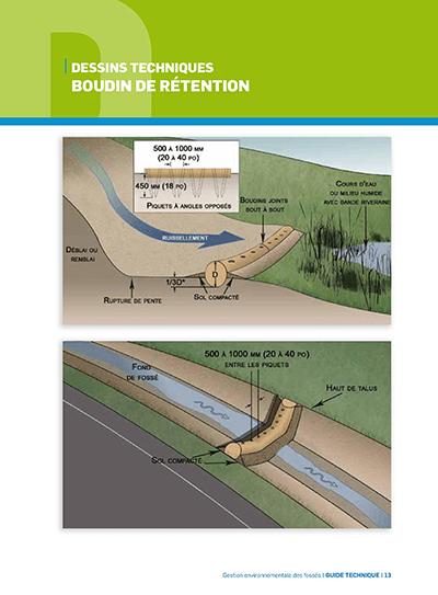 Bassin rétention gestion environnementale fossés
