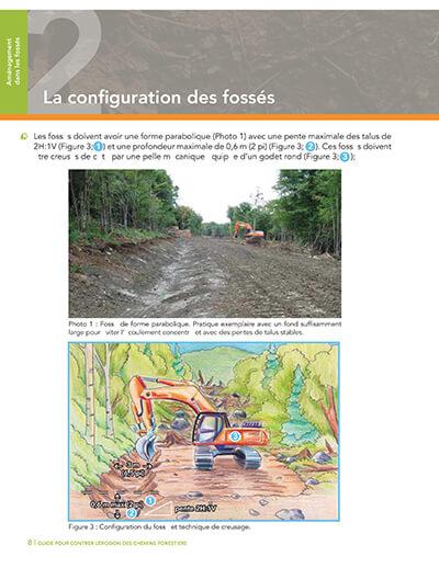 configuration de fossés chemins forestiers